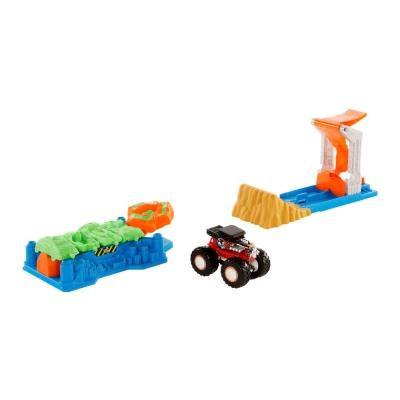 """Игровой набор Hot Wheels Монстро-прыжок серии Monster Trucks (GVK08) купить в магазине """"Пустун"""""""