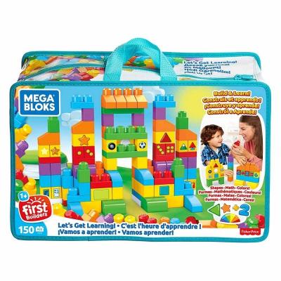 """Конструктор Mega Bloks Делюкс (150 деталей) (FVJ49) купить в магазине """"Пустун"""""""