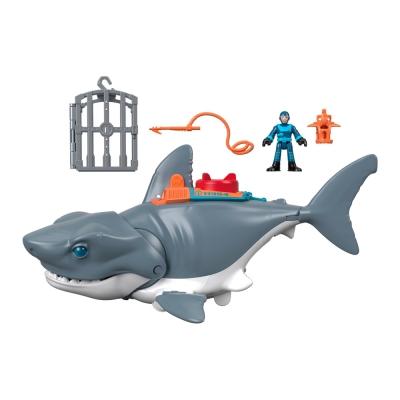 """Игровой набор Imaginext Опасная акула (GKG77) купить в магазине """"Пустун"""""""
