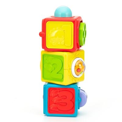 """Двигающиеся кубики Fisher-Price Яркие (DHW15) купить в магазине """"Пустун"""""""