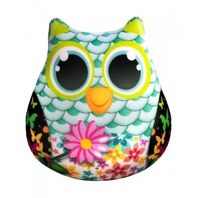 """Антистрессовая игрушка SOFT TOYS Сова с цветами купить в магазине """"Пустун"""""""