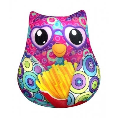 """Антистрессовая игрушка SOFT TOYS  Сова с картошкой фри купить в магазине """"Пустун"""""""