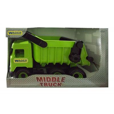 """Машинка самосвал TIGRES Middle truck зеленого цвета (39482) купить в магазине """"Пустун"""""""