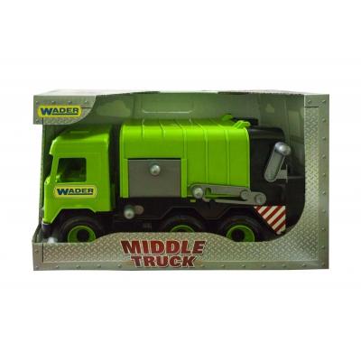 """Мусоровоз TIGRES Middle truck (зеленый) (39484) купить в магазине """"Пустун"""""""