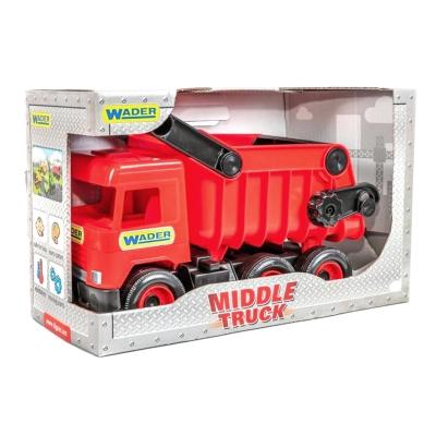 """Самосвал TIGRES Middle truck (красный) (39486) купить в магазине """"Пустун"""""""