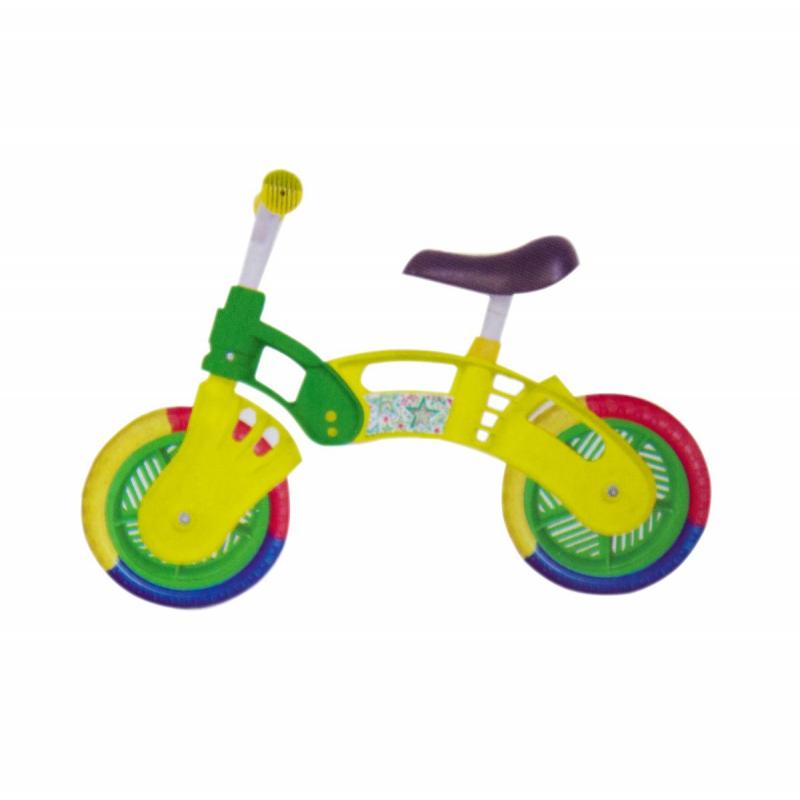 "Беговел ""Star Bike"", 10"" (желто-зеленый) KW-11-012 ЖЗ купить в магазине ""Пустун"""