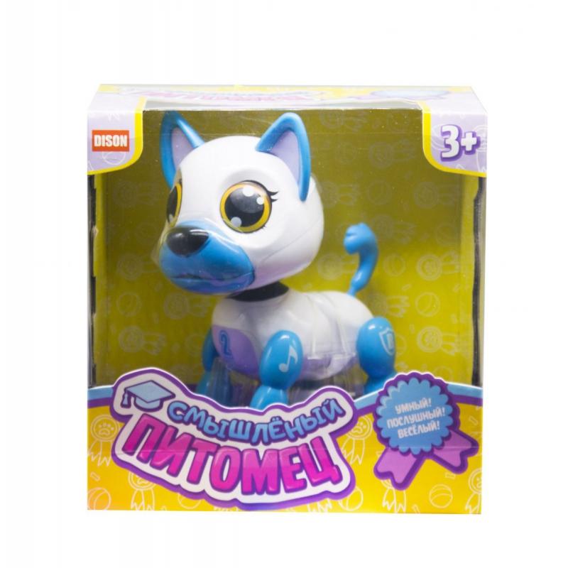 """Интерактивная игрушка Смышлённый питомец щенок белый купить в магазине """"Пустун"""""""