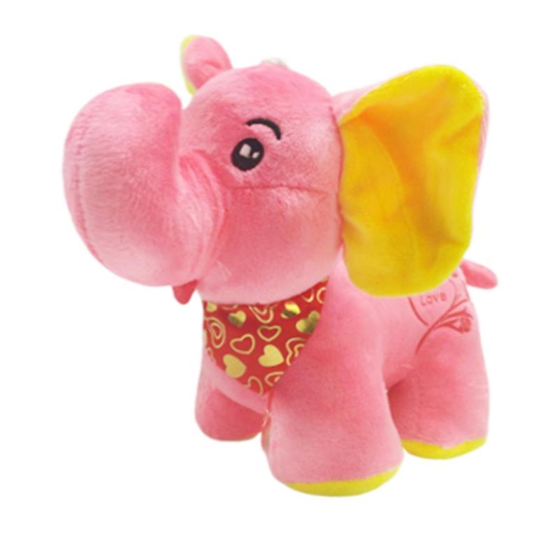 """Мягкая игрушка Слоник (розовый) купить в магазине """"Пустун"""""""