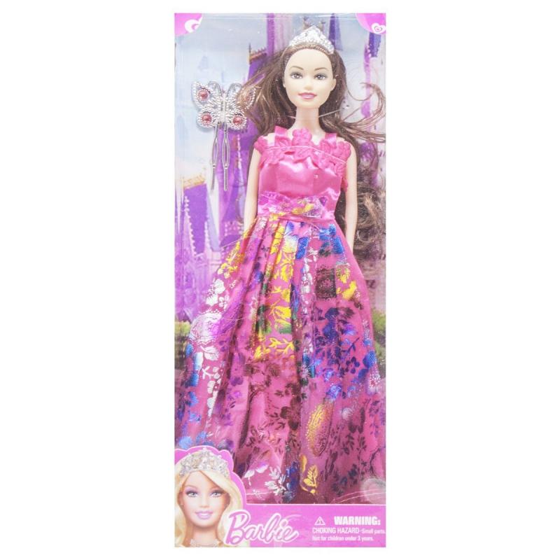 """Кукла в диадеме Barbie вид 5 купить в магазине """"Пустун"""""""