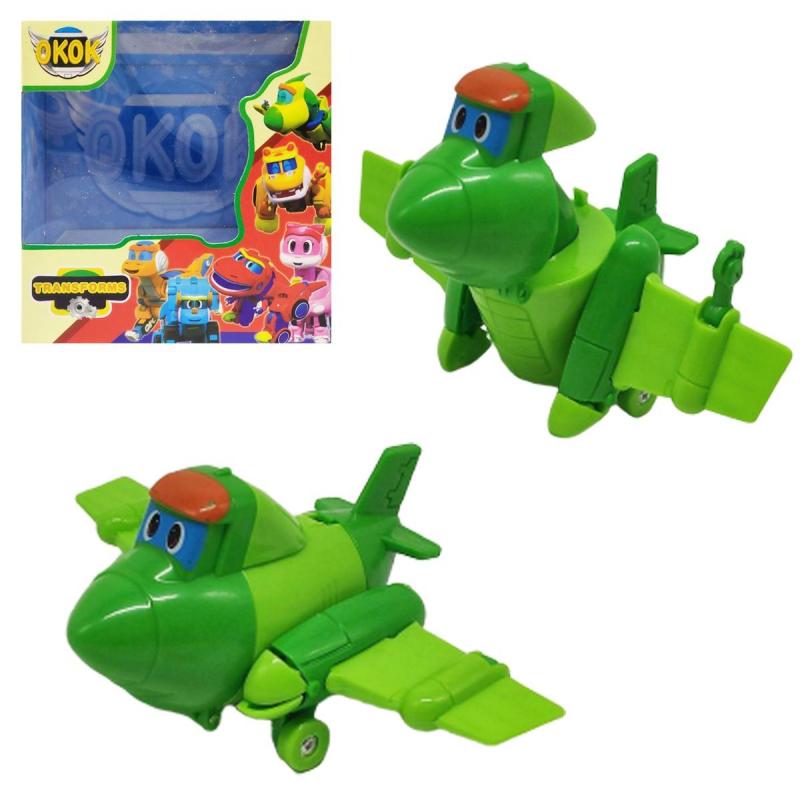 """Игрушка-трансформер """"GoGo Dino"""" зеленый 167 купить в магазине """"Пустун"""""""