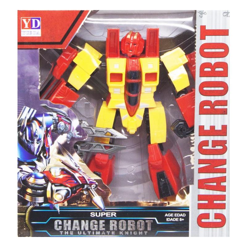 """Трансформер """"Change robot"""", желтый YD-31 купить в магазине """"Пустун"""""""