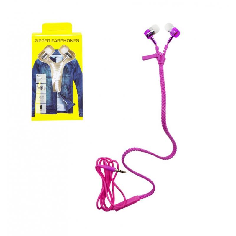 """Наушники """"Zipper"""", розовый VDN112 купить в магазине """"Пустун"""""""