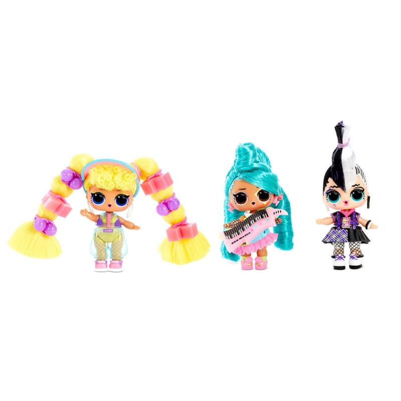 """Набор из двух кукол l.o.l surprise! W1 серии remix hairflip  музыкальный сюрприз (566960-А) купить в магазине """"Пустун"""" Фото 2"""