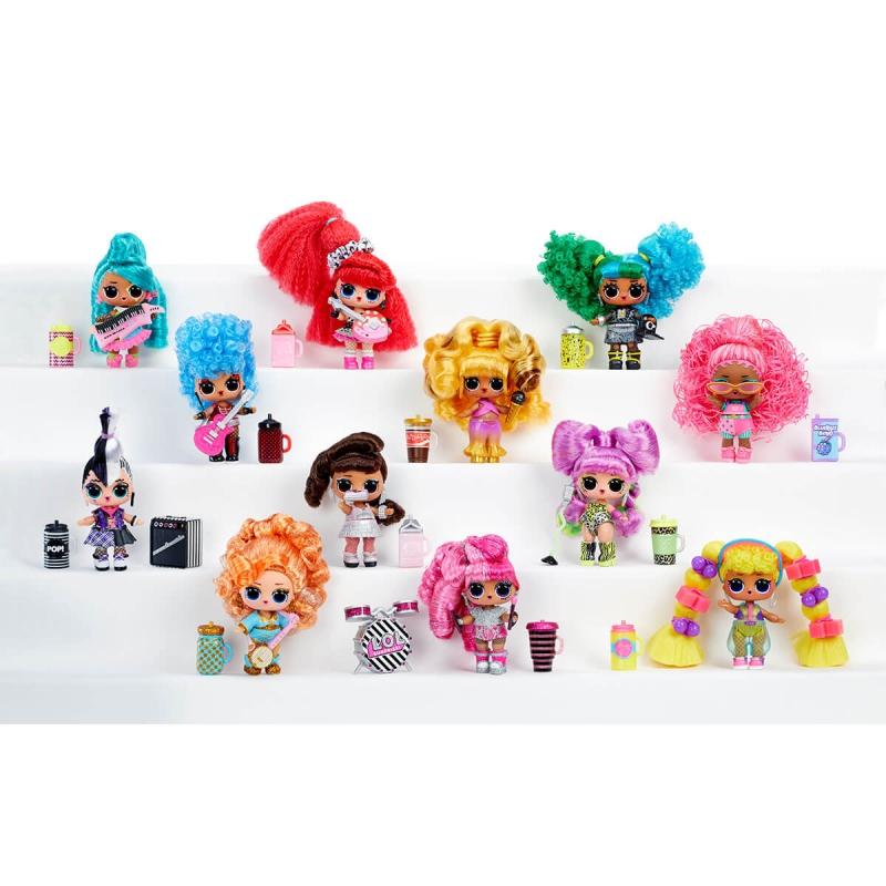 """Набор из двух кукол l.o.l surprise! W1 серии remix hairflip  музыкальный сюрприз (566960-А) купить в магазине """"Пустун"""" Фото 13"""