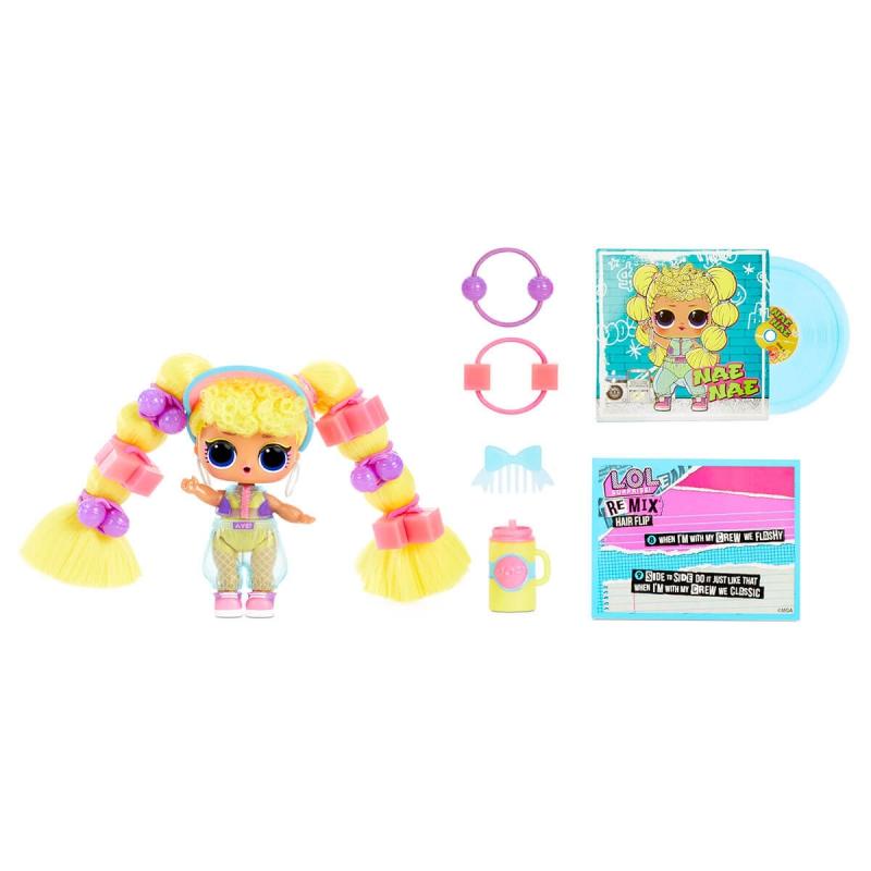 """Набор из двух кукол l.o.l surprise! W1 серии remix hairflip  музыкальный сюрприз (566960-А) купить в магазине """"Пустун"""" Фото 7"""