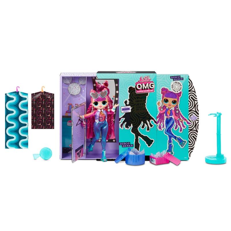 "Кукла l.o.l. Surprise! диско-скейтер с аксессуарами (567196) купить в магазине ""Пустун"" Фото 7"