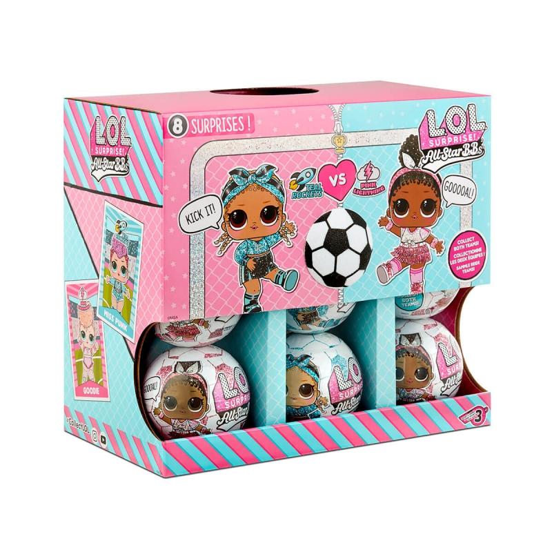 "Кукла l.o.l. Surprise! футболистки (572671) купить в магазине ""Пустун"" Фото 8"