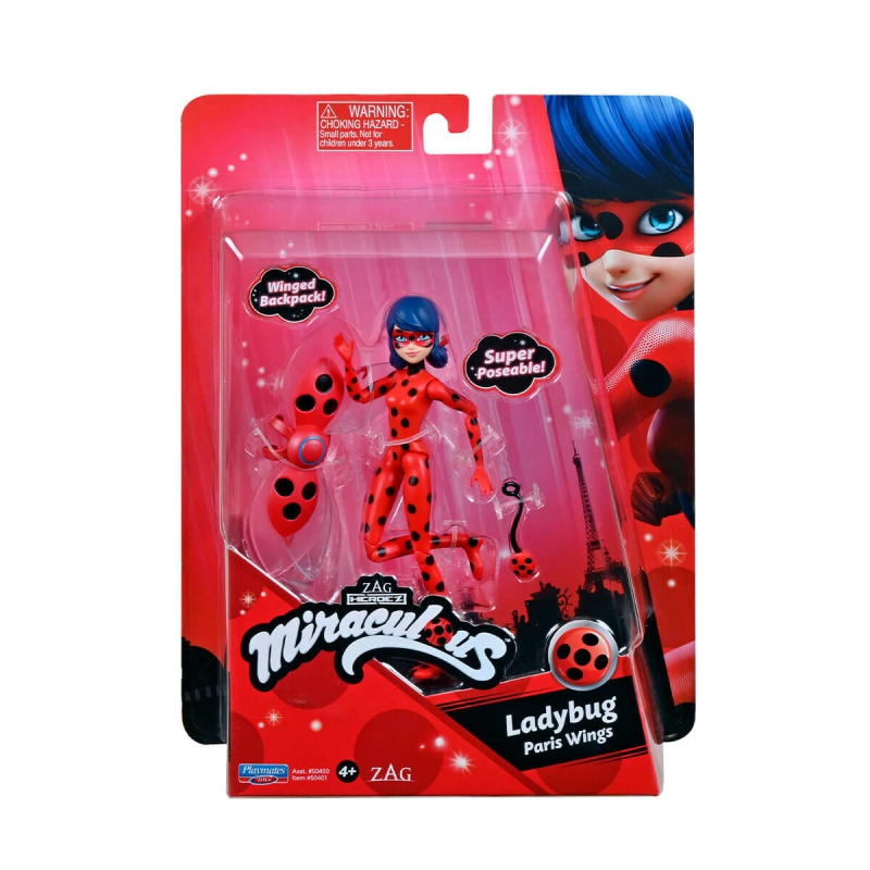 "Кукла Miraculous леди баг и супер-кот леди баг (50401) купить в магазине ""Пустун"" Фото 4"