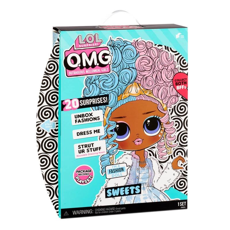 """Игровой набор с куклой L.O.L. Surprise! серии O.M.G. S4 – Леди-Конфетка (572763) купить в магазине """"Пустун"""" Фото 9"""