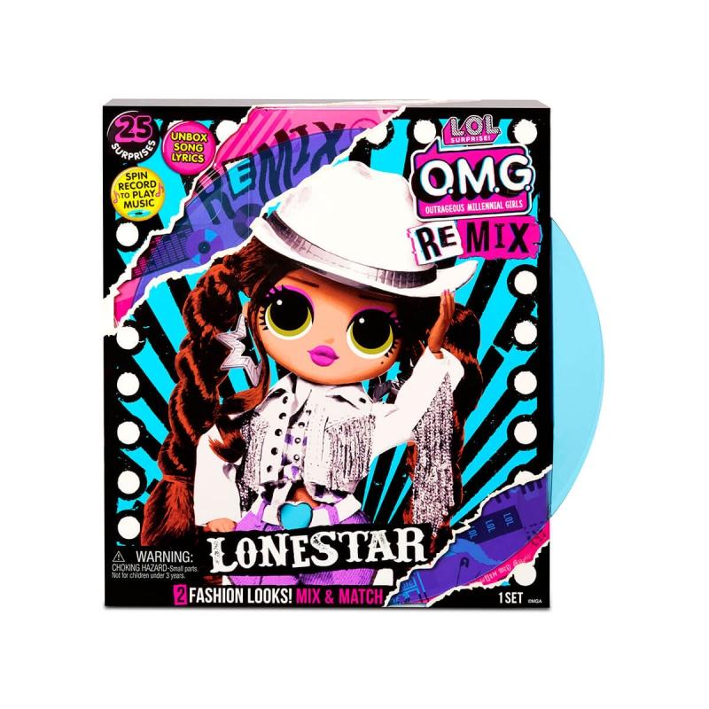 """Игровой набор с куклой L.O.L. Surprise! серии O.M.G. Remix  Леди-Кантри (567233) купить в магазине """"Пустун"""""""