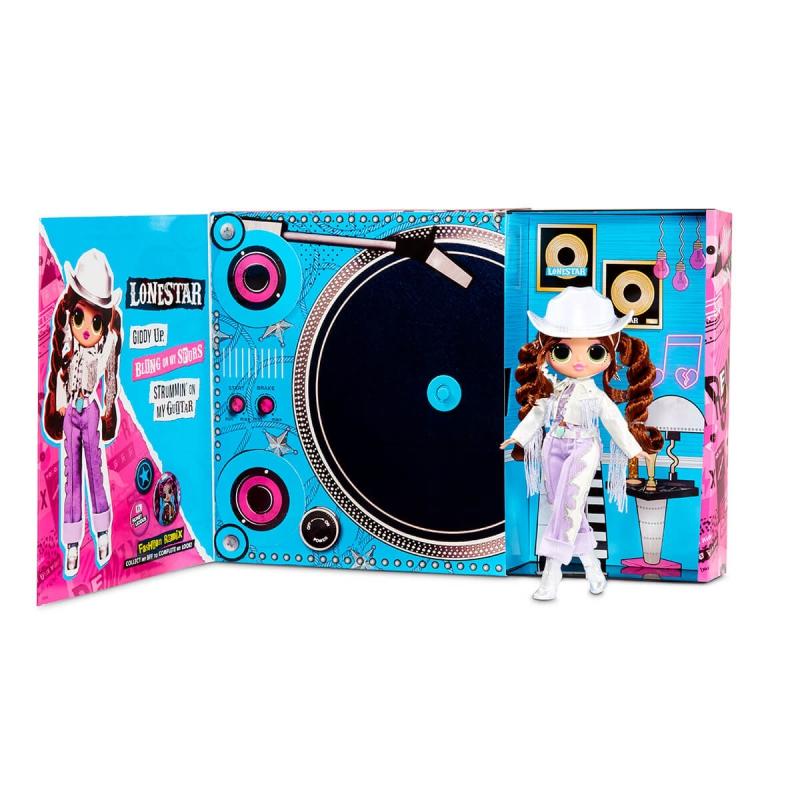 """Игровой набор с куклой L.O.L. Surprise! серии O.M.G. Remix  Леди-Кантри (567233) купить в магазине """"Пустун"""" Фото 7"""