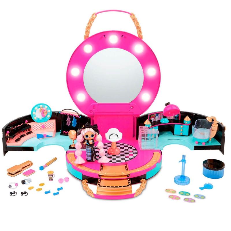 """Игровой набор с куклой L.O.L. Surprise! серии J.K.  Салон красоты (571322) купить в магазине """"Пустун"""""""