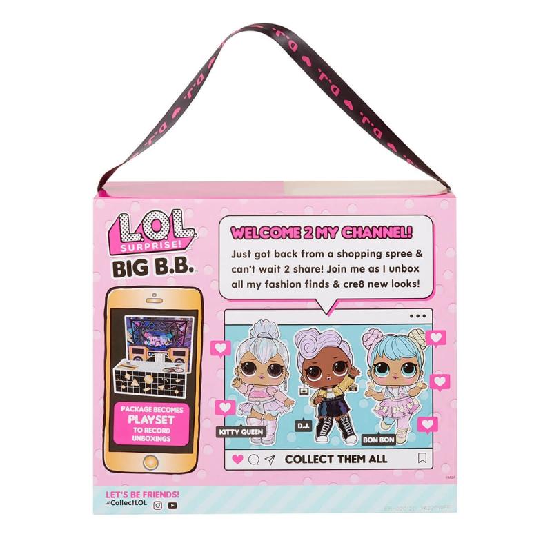 """Набор с мега-куклой L.O.L. Surprise! серии Big B.B.Doll – Диджей (573067) купить в магазине """"Пустун"""" Фото 11"""
