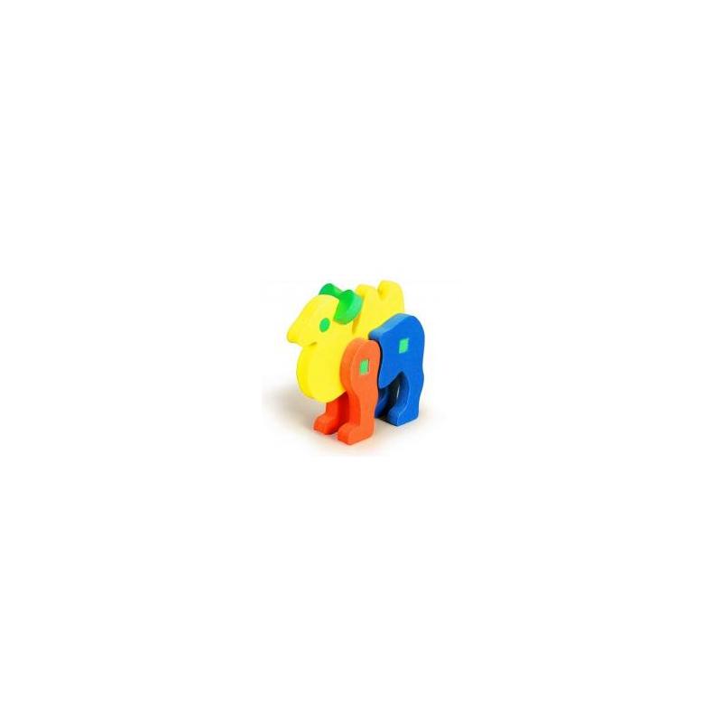 """Мягкий 3D Конструктор БОМИК Верблюд (308) купить в магазине """"Пустун"""""""