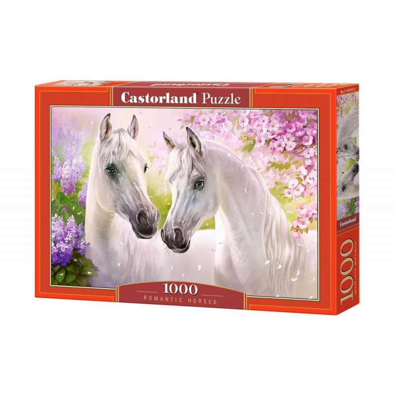 """Пазлы Влюблённые лошади, 1000 элементов купить в магазине """"Пустун"""""""